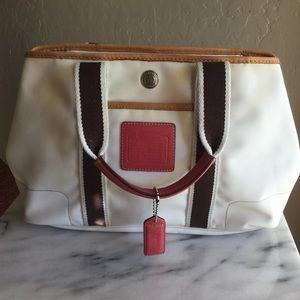Coach Small Hampton Tote Bag 5078